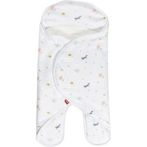 COUVERTURE - PLAID BÉBÉ Couverture -  Babynomade Double polaire 0-6m Happy