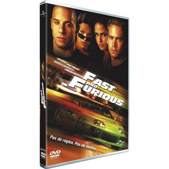 dvd fast and furious en dvd film pas cher cohen rob cdiscount. Black Bedroom Furniture Sets. Home Design Ideas