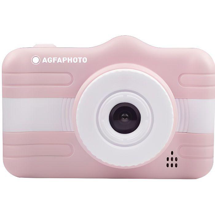 AGFA PHOTO - Appareil Photo Numérique Compact Enfant - Realikids Cam 3.5'' - Rose