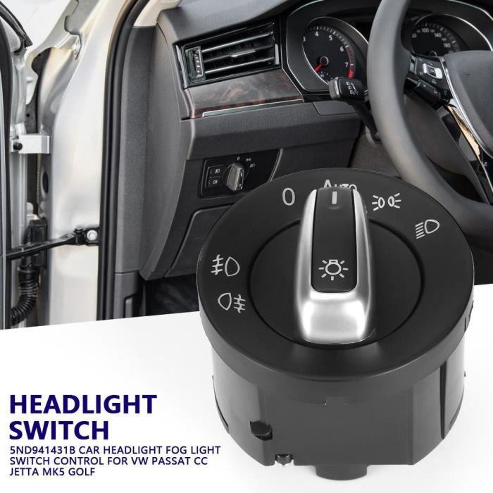 5ND941431B voiture contrôle phare antibrouillard commutateur de commande pour VW Passat CC Jetta MK5 Golf-TIM