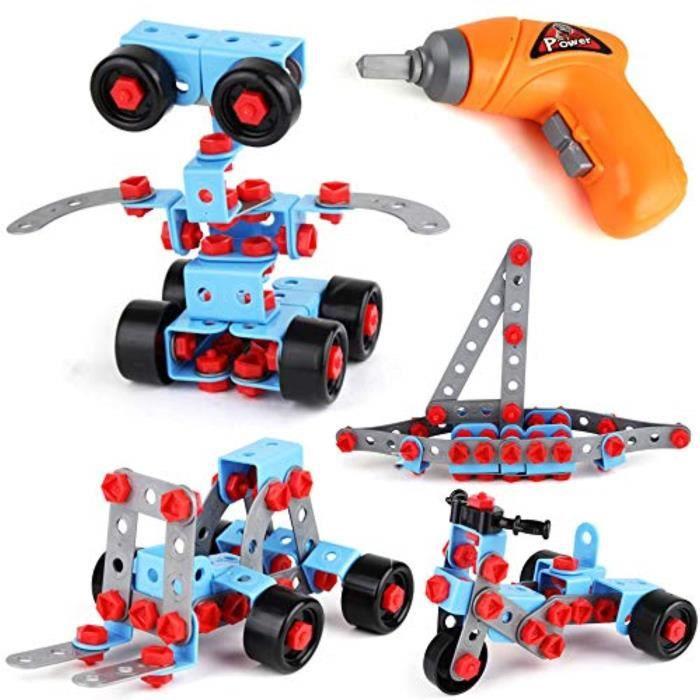 Jeu D'Assemblage FY6ZY jouets de construction éducatifs, jeu de construction et jeu de blocs de construction pour 6-7-8-9 et 10 ans,