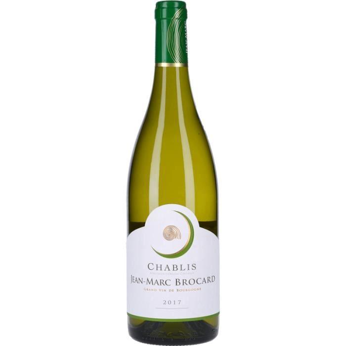 Vin Blanc - Chablis Jean-Marc Brocard 2018 - Bouteille 75cl
