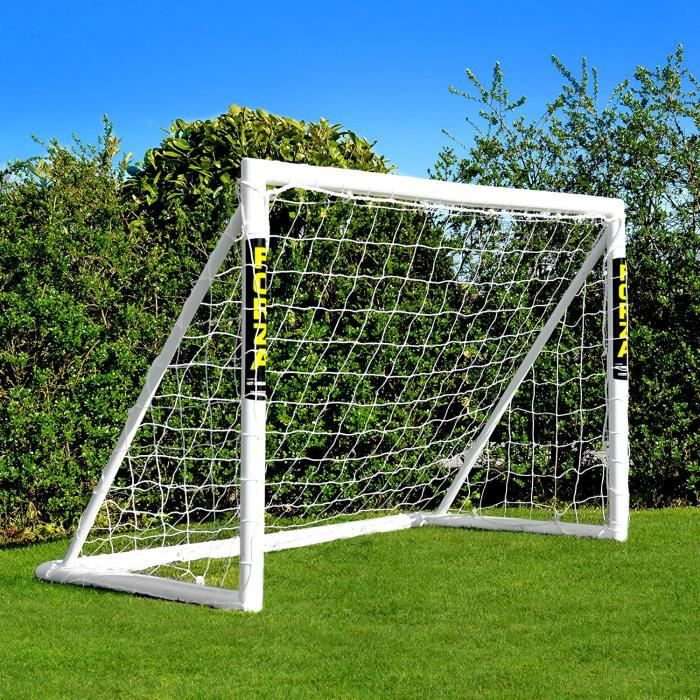 FORZA But de Football PVC pour Le Jardin-Entraînement - Cage de Foot Portable avec Filet & Poteaux Imperméables (6 Tailles) - Sys26