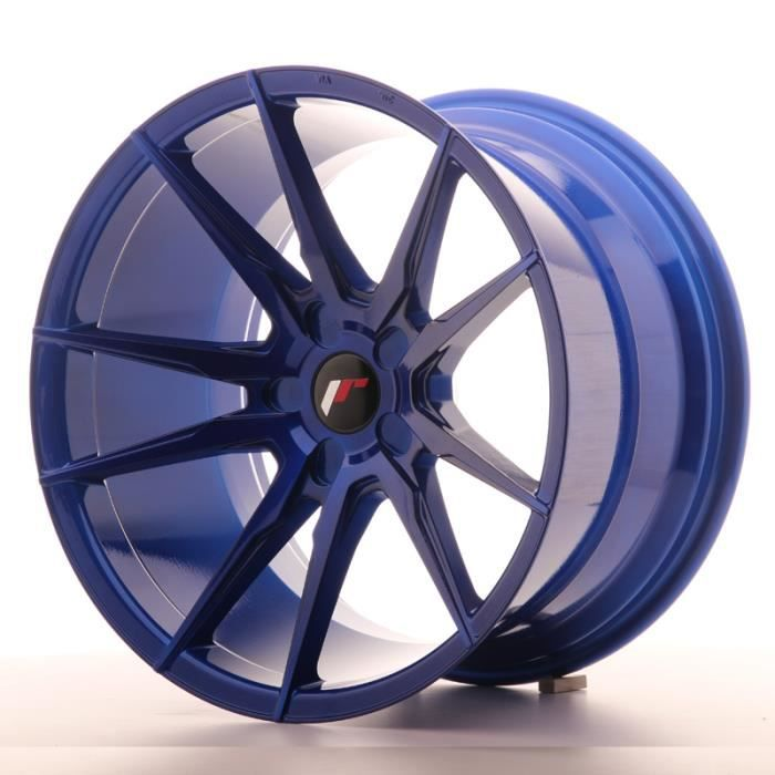 Jante Alu 19- Japan Racing JR21 19x11 ET15-30 5H Platinium Blue