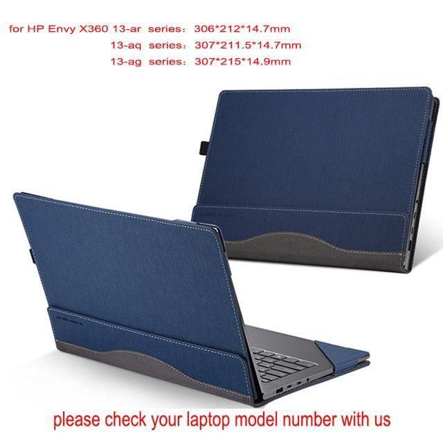Sacoches & Housses Ordinateur,Housse d'ordinateur portable détachable pour Hp Envy X360 13.3 pouces - Type blue-envy 13-ba series
