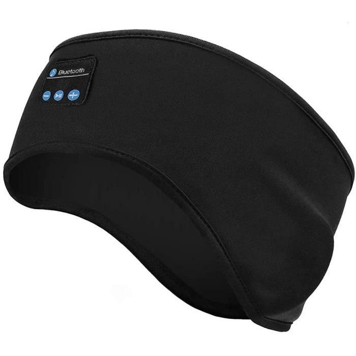 Linkax Casque de Sommeil Bluetooth Anti Bruit Sommeil Bandeau Ultra-Fins Casque Musique Anti Bruit Sommeil, Parfait pour Sport,Dorme