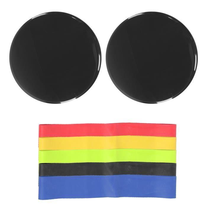 Exercice de sport Disques à disques coulissants Entraînement d'entraînement de curseur Tapis de glissière(noir )-CHD
