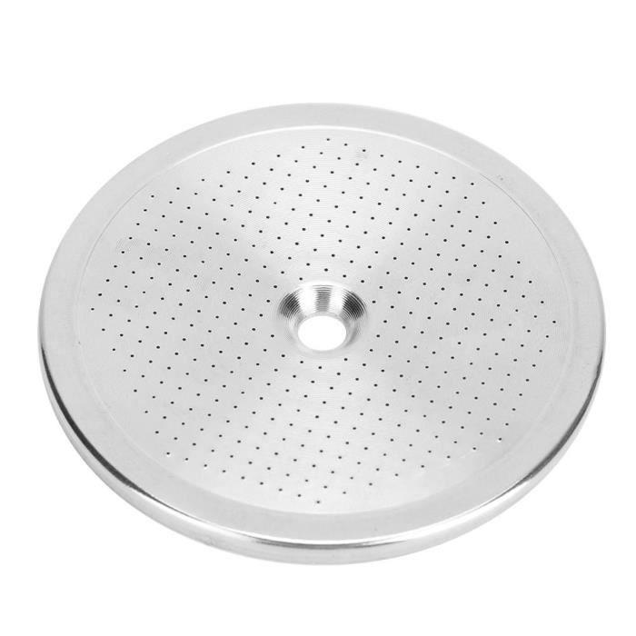 Écran de douche à café universel en acier inoxydable 58mm, accessoire de Machine à café à trou de filtre Super fin, pour café