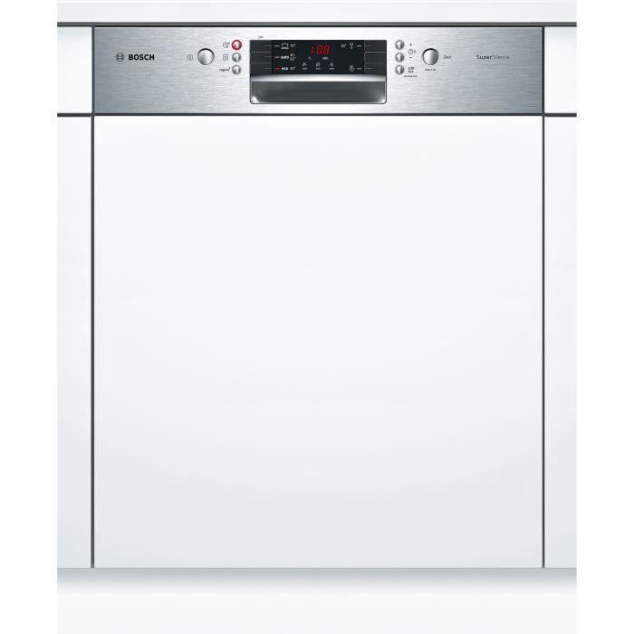 Bosch - lave-vaisselle 60cm 13c 44db a+++ intégrable avec bandeau inox - smi45is04e
