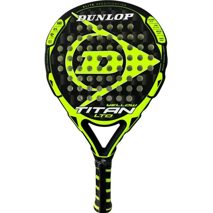 Dunlop Titan LTD Yellow
