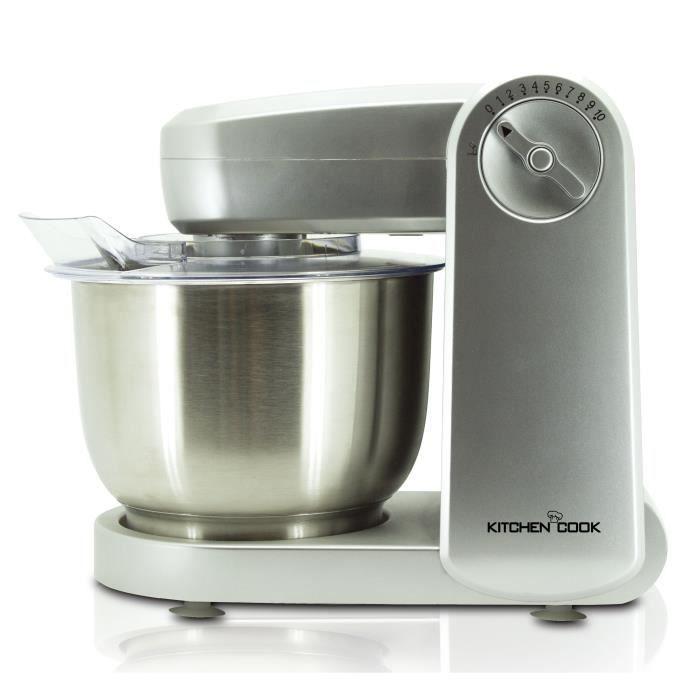 KITCHENCOOK Robot pâtissier Mixmaster - Inox