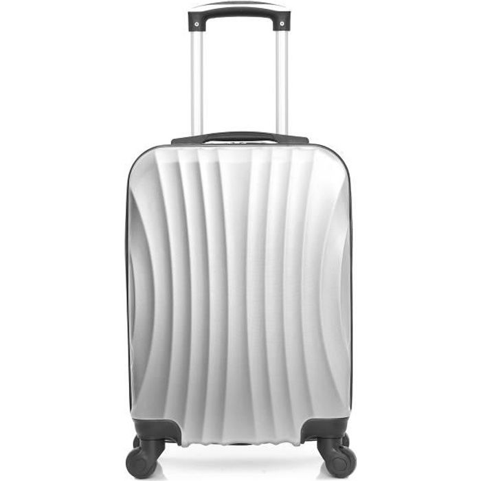 HERO – VALISE CABINE - ABS – 50cm – 4 roues – MOSCOU-A – GRIS
