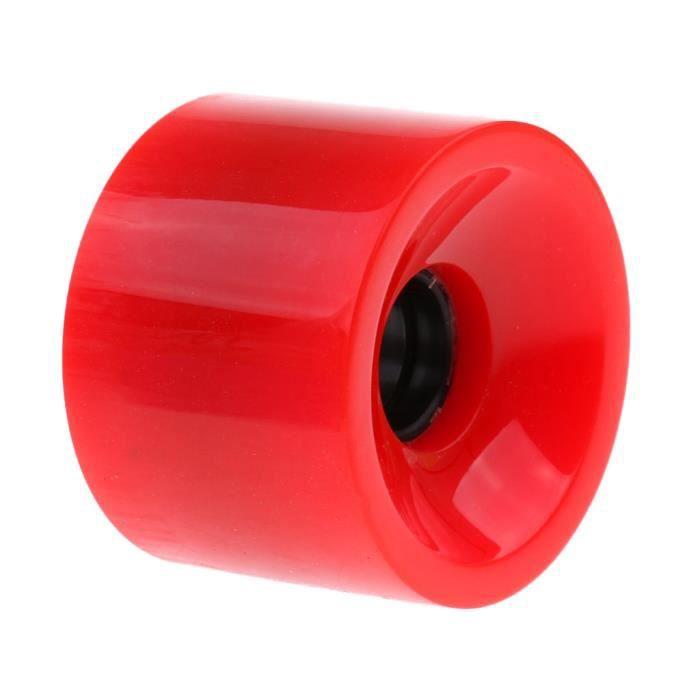 70 X 51mm Pro Skateboard Roues Longboard Cruiser Roues rouge