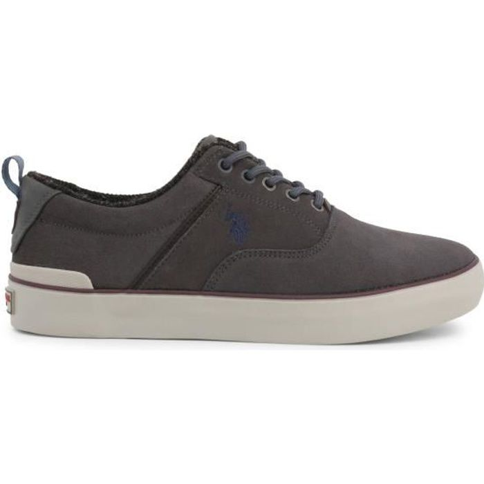 U.S. Polo - Sneakers pour homme (ANSON7106W9_S1_MDGR) - Gris