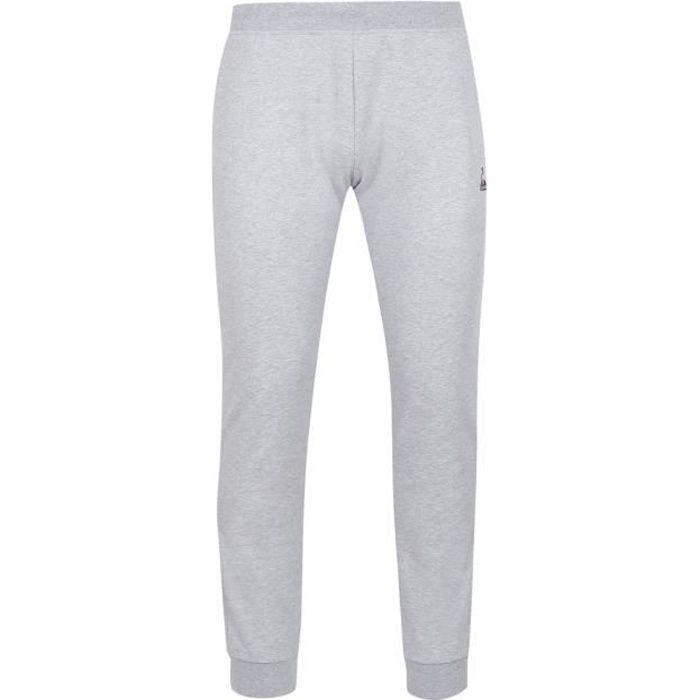 Pantalon de jogging Le Coq Sportif Essentiels - gris clair - XXL