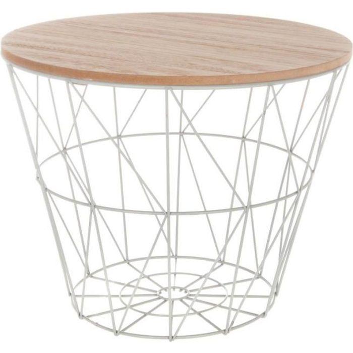 Table d'Appoint Design -Kumi- 30cm Gris