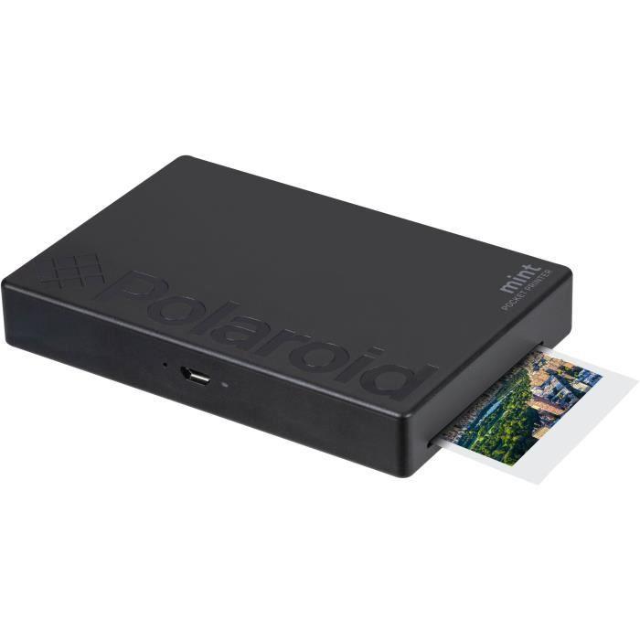POLAROID Mint Imprimante photo mobile Bluetooth - Impression format 2-x3- - Noir