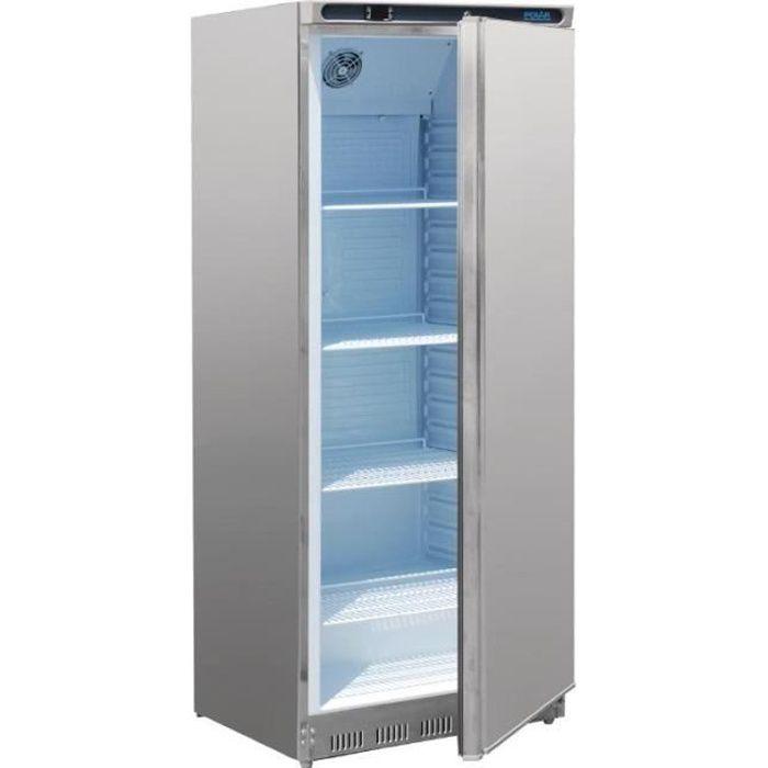 Réfrigérateur 1 porte 600 Litres Exterieur inox