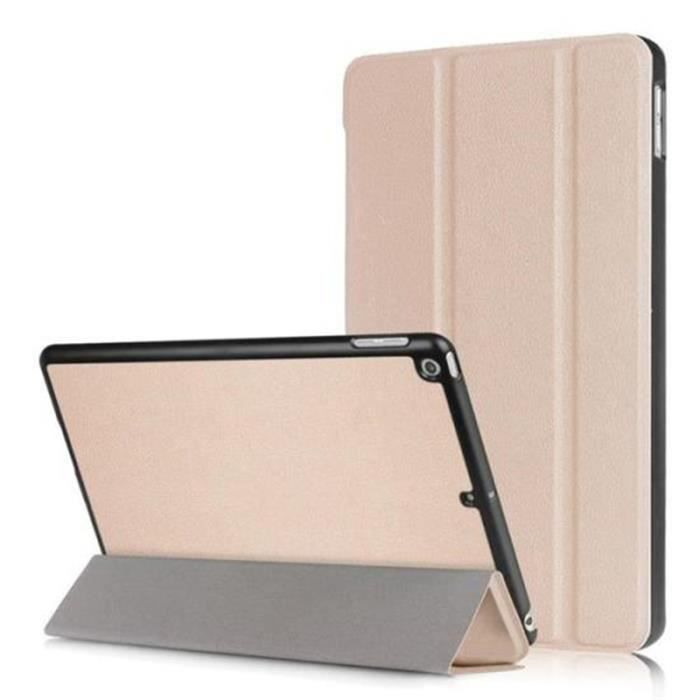 Housse Etui pour Apple Ipad 9.7(2017) Tablette Or