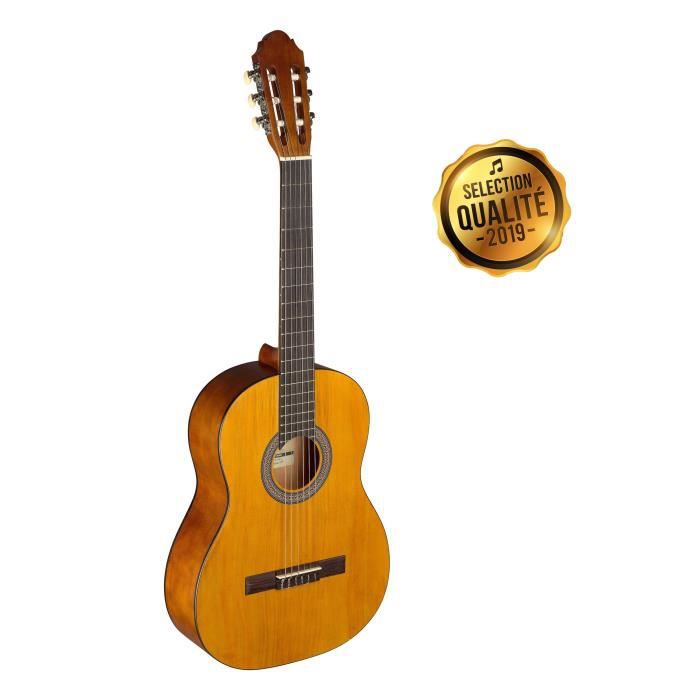 STAGG Guitare Classique Adulte C440 M Naturel