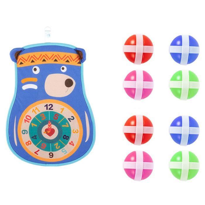 1 ensemble de jouets pour enfants décompression éducative pratique drôle exquis jeu de fléchettes bâton cible balle TENNIS BALL