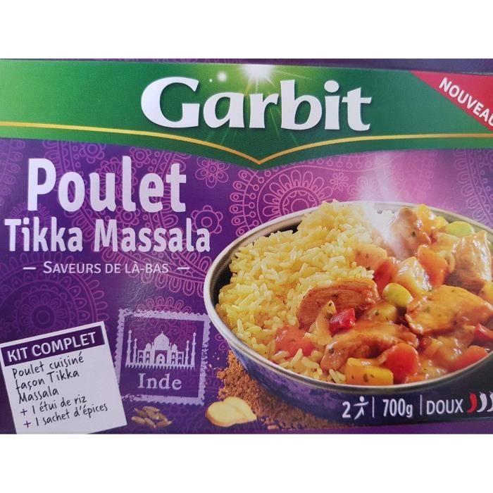 WILLIAM SAURIN Poulet Tikka Massala Garbit - 700 g