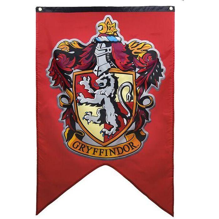BANDEROLE - BANNIÈRE Harry Potter drapeau décoratif-gryffindo-75 * 125c