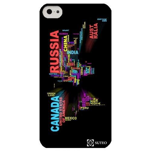 coque iphone 5 carte du monde