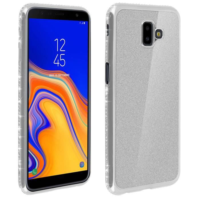 Coque Samsung Galaxy J6 Plus Silicone Gel Mat Protection Souple