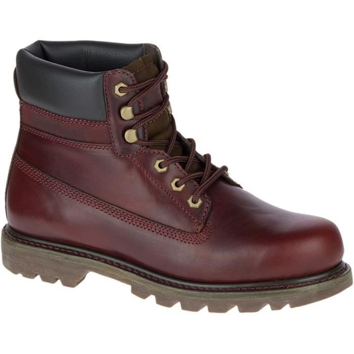 CATERPILLAR Bottines Colorado Chaussures Femme Chocolat