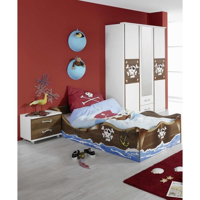 chambre enfant compl te pirate achat vente chambre. Black Bedroom Furniture Sets. Home Design Ideas