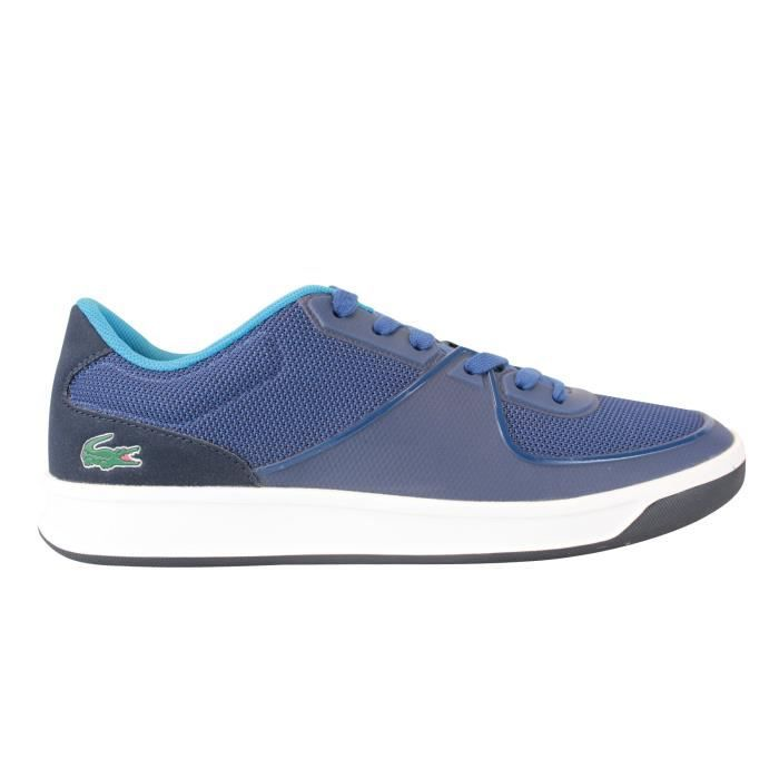 Lacoste LS.12.Evo 117 Bleu - Chaussures Baskets basses Homme