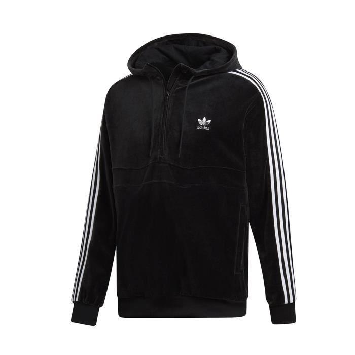 Sweat adidas Originals COZY HALFZIP DX3625 Noir Achat
