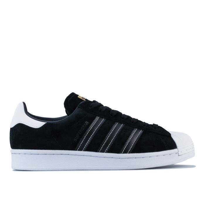 Baskets Adidas Originals Superstar Pour Homme En Noir. Noir ...