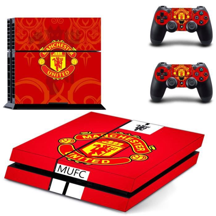 jwmall manchester united fc set de stickers et protection. Black Bedroom Furniture Sets. Home Design Ideas