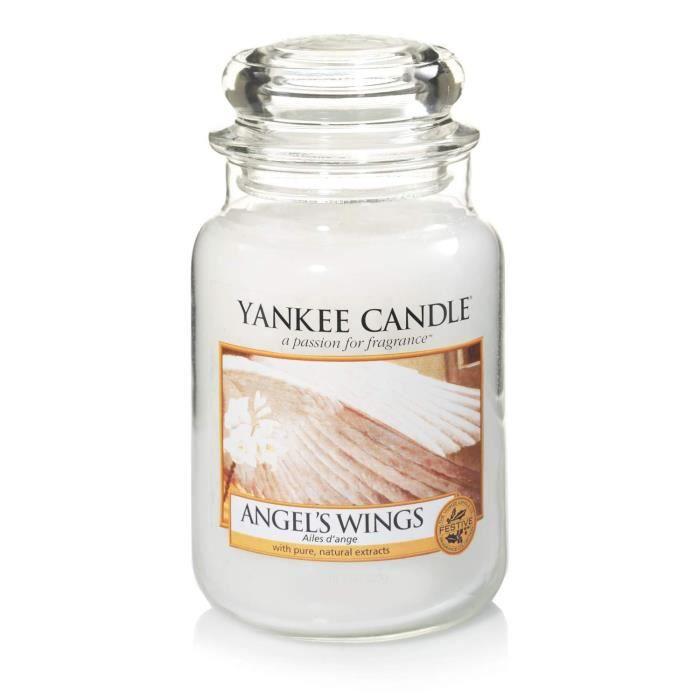 jusqu/à 150/heures de combustion Yankee Candle bougie jarre parfum/ée Guirlande de No/ël grande taille