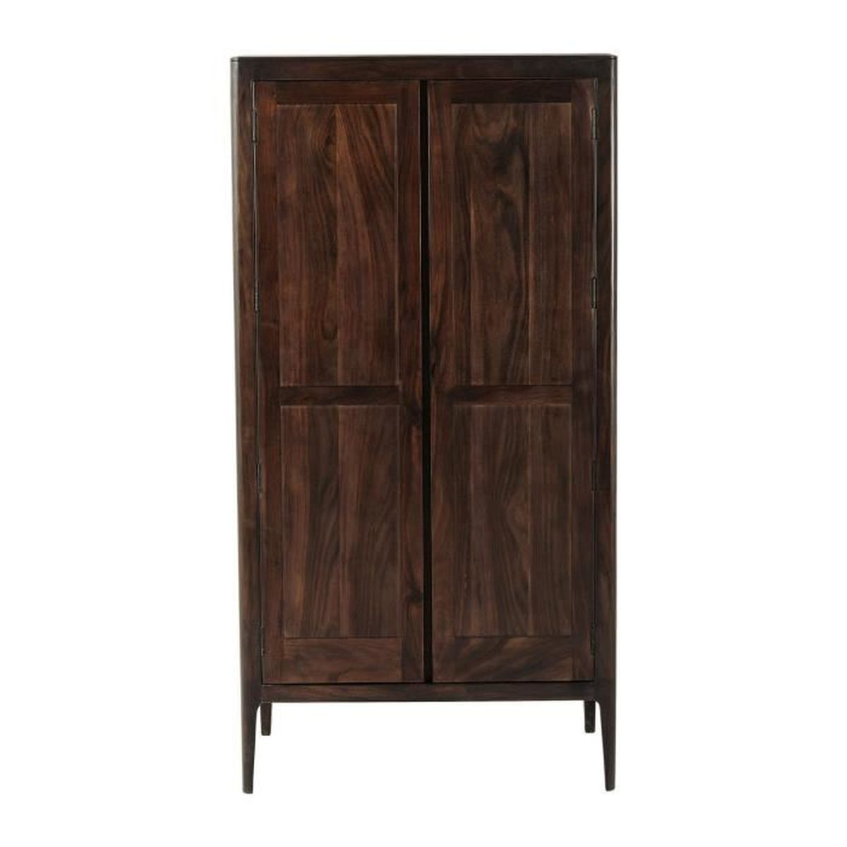 armoire brooklyn walnut kare design achat vente. Black Bedroom Furniture Sets. Home Design Ideas