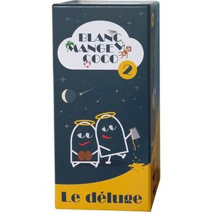 CARTES DE JEU Jeu de cartes Blanc Manger Coco 2 : Le Déluge