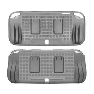 HOUSSE DE TRANSPORT Gris TPU Coque arrière de protection avec 2 emplac