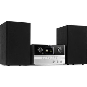 RADIO CD CASSETTE auna Connect System S Chaîne stéréo avec radio Int
