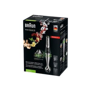 BLENDER Braun Multiquick 9 MQ 9045 Aperitive Mixeur à main
