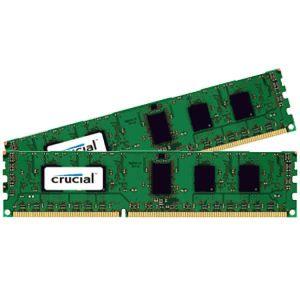 MÉMOIRE RAM Crucial CT2K51264BD160B, 8 Go, 2 x 4 Go, DDR3, 160