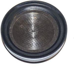DULALA Filtre Nouveau Filtre /À Caf/é en Acier Inoxydable Filtre 1PC Permanent R/éutilisable # 4 C/ône Forme Filtre /À Caf/é