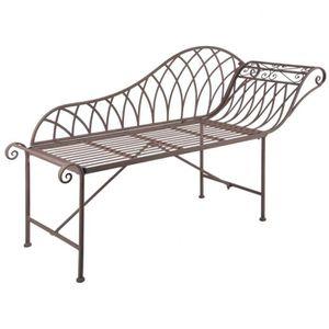 English Chaise Old longue Style Esschert Design Métal MF016 Ybv76gymIf