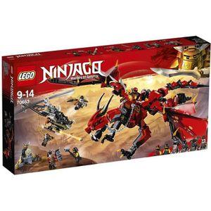ASSEMBLAGE CONSTRUCTION LEGO® NINJAGO® 70653 Le Dragon Firstbourne - Jeu d