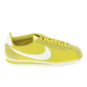brand new 5a1b2 a5f29 BASKET Basket -mode - Sneakers NIKE Cortez Citron 74964-7