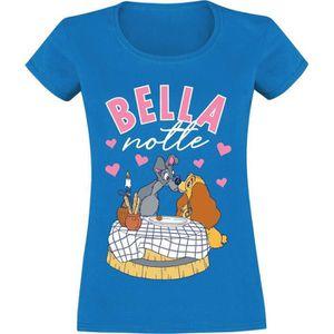 T-SHIRT La Belle Et Le Clochard Bella Notte T-Shirt Manche