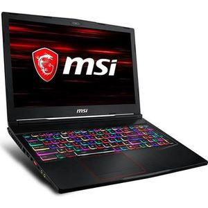 ORDINATEUR PORTABLE PC portable Gaming MSI GE63 RAIDER RGB 8RE-482FR -