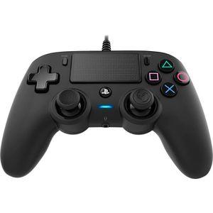 MANETTE JEUX VIDÉO Manette Filaire NACON Noire pour Playstation 4
