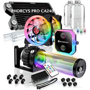 VENTILATION  Raijintek Phorcys Pro CA240 - Kit de watercooling